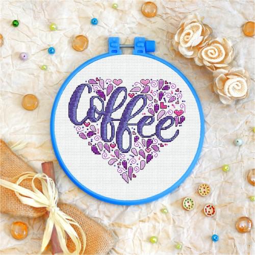 Cross stitch kit «T-0002 Coffee»