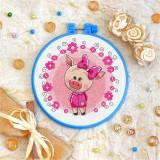 Cross stitch kit «T-0012 Miss Piggy»