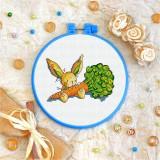 Cross stitch kit «T-0022 Toy Bunny 'n Carrot»