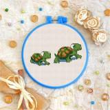 Cross stitch kit «T-0112 Turtles»