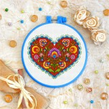 Cross stitch kit «T-0142 Burgeoning Heart»