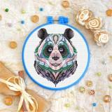 Cross stitch kit «T-0155 Mandala Panda»