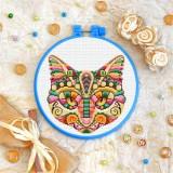 Cross stitch kit «T-0167 Mandala Cat»