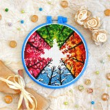 Cross stitch kit «T-0187 Four Seasons»