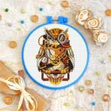 Cross stitch kit «T-0198 Steampunk Owl»