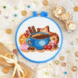 Cross stitch kit «T-0264 Coffee Still Life»