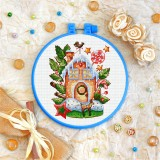 Cross stitch kit «T-0302 Gingerbread House»