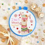 Cross stitch kit «T-0327 No Drama Llama»