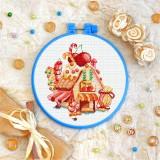 Cross stitch kit «T-0337 Candy House»