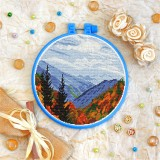 Cross stitch kit «T-0375 Smoky Mountains Landscape»