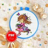 Cross stitch pattern «pdf-T-0057 My Special Friend»