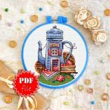 Cross stitch pattern «pdf-T-0288 Belgian Waffles»