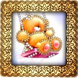 Magnet bead embroidery kit «M-0005 The Joy of Swing»