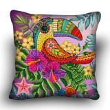 Pillow cross stitch kit «H-0002 Terrific Toucan»