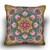 Pillow cross stitch kit «H-0012 Mandala Rose»