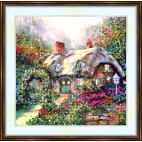 Bead embroidery kit «A-0108 The Elves Cottage»