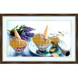 Bead embroidery kit «A-0128 Lip-Smacking Delight»