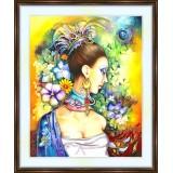 Bead embroidery kit «A-0198 Melissa»