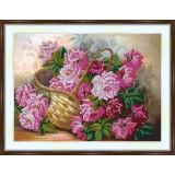 Bead embroidery kit «A-0289 Velvet Roses»