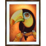 Bead embroidery kit «A-0309 Toucan»