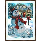 Bead embroidery kit «A-0349 Christmas Greetings»