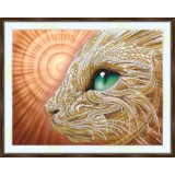 Bead embroidery kit «A-0359 Seeing the Future»