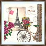 Bead embroidery kit «A-0409 Paris Memories»