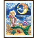 Bead embroidery kit «A-0439 Mermaid Worship»