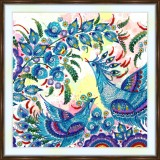 Bead embroidery kit «A-0473 Fanciful Birds»