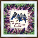 Bead embroidery kit «A-0513 Home Sweet Home»