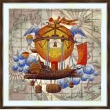 Bead embroidery kit «A-0526 Aeronautics»