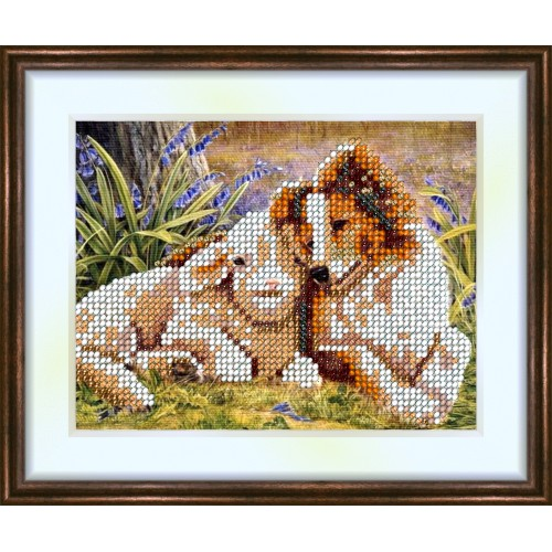 Bead embroidery kit «K-0037 Quiet Interlude»