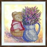 Bead embroidery kit «K-0188 Teddy Bear»