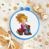 Cross stitch kit «T-0063 Waiting Patiently»