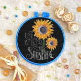 Cross stitch kit «T-0093 You Are My Sunshine»