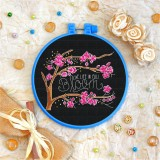 Cross stitch kit «T-0103 Live Life in Full Bloom»