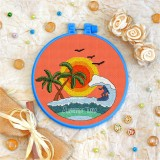 Cross stitch kit «T-0133 Summer Time Surfin'»