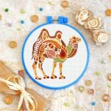 Cross stitch kit «T-0221 Mandala Camel»