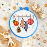 Cross stitch kit «T-0254 Christmas Gifts»