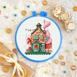 Cross stitch kit «T-0292 Gingerbread House»