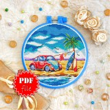 Cross stitch pattern «pdf-T-0315 Love VW»