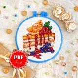 Cross stitch pattern «pdf-T-0336 Sweet Treat»