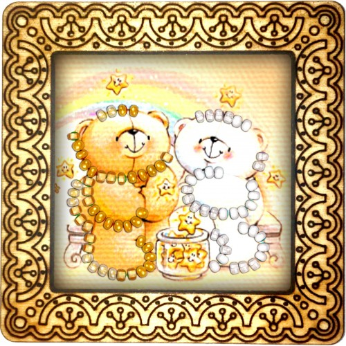 Magnet bead embroidery kit «M-0036 Bearing Together»