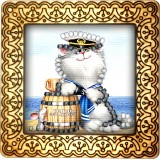 Magnet bead embroidery kit «M-0066 Kitty Sailor»