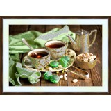 Bead embroidery kit «A-0109 Tea and Mints»