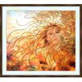 Bead embroidery kit «A-0129 Autumn Breezes»