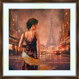 Bead embroidery kit «A-0149 Evening in the City 4»