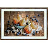 Bead embroidery kit «A-0159 Pears 'n Blueberries»