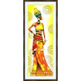 Bead embroidery kit «A-0239 Regal African Woman»