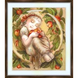 Bead embroidery kit «A-0249 I Love My Apples»